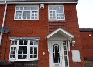 Thumbnail 3 bedroom end terrace house for sale in Eastney Crescent, Wolverhampton