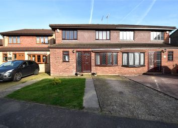 Thumbnail 5 bed semi-detached house for sale in Millstone Close, South Darenth, Dartford, Kent