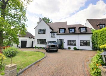 Thumbnail 5 bed detached house to rent in Parkgate Avenue, Hadley Wood, Hertforshire