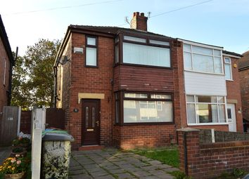 Thumbnail 3 bed semi-detached house for sale in Welbeck Avenue, Chadderton, Oldham