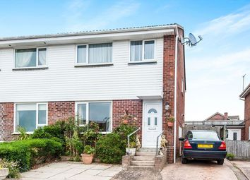 Thumbnail 3 bed semi-detached house for sale in Marcom Close, Exmouth