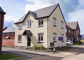 Thumbnail 3 bed detached house for sale in Mercia Way, Kempsey, Worcester