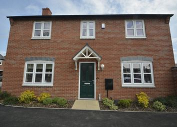 Thumbnail 4 bed detached house to rent in Holywell Fields, Hinckley, Leicestershire