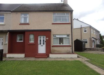 Thumbnail 3 bed end terrace house for sale in Thrashbush Crescent, Wishaw