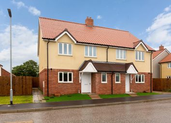 Thumbnail 3 bed semi-detached house for sale in Plot 20, Mulberry Place, Chedburgh