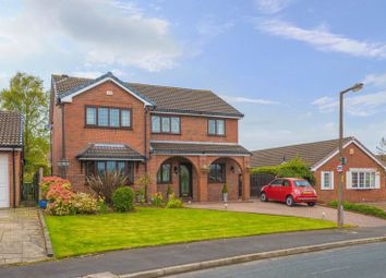 Thumbnail 4 bed detached house for sale in Boars Head Avenue, Standish, Wigan