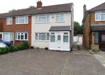 Thumbnail 3 bedroom semi-detached house for sale in Warwick Drive, Cheshunt