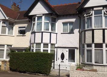 Thumbnail 4 bedroom terraced house to rent in Southview Drive, Westcliff On Sea