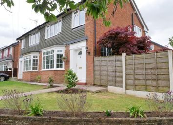 Thumbnail 4 bed semi-detached house for sale in Fountains Road, Bramhall, Stockport, Cheshire