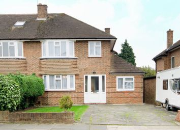 Thumbnail 3 bed property to rent in Raisins Hill, Pinner