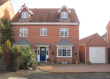Thumbnail 5 bed detached house for sale in Glover Road, Castle Donington, Derby