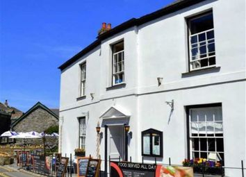 Thumbnail Restaurant/cafe for sale in The Old Manor House, The Bridge, Boscastle, Cornwall