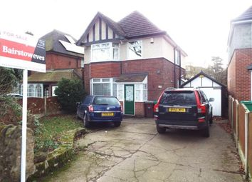 Thumbnail 3 bed detached house for sale in Russell Drive, Wollaton, Nottingham, Nottinghamshire