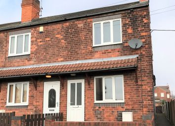 Thumbnail 3 bedroom end terrace house to rent in Victoria Street, Creswell, Worksop