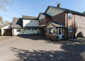 Thumbnail 5 bedroom detached house for sale in The Green, Clayton, Newcastle-Under-Lyme