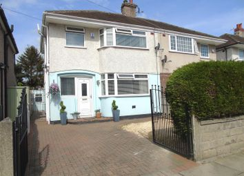 Thumbnail 3 bed semi-detached house for sale in Radley Drive, Liverpool