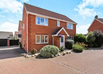 Thumbnail 4 bed detached house for sale in Attleborough, Norwich, Norfolk