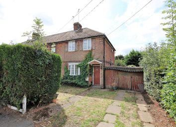 Thumbnail 2 bed semi-detached house for sale in Manor Road, Caddington, Bedfordshire