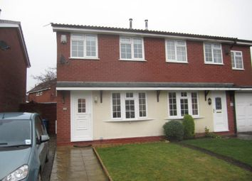 Thumbnail 2 bed semi-detached house to rent in Hazelborough Close, Gorse Covert, Warrington, Cheshire