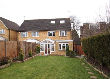 Thumbnail 3 bed semi-detached house for sale in Newell Road, Hemel Hempstead, Hertfordshire