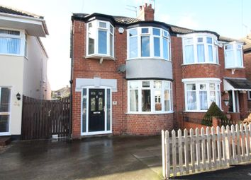 Thumbnail 4 bed semi-detached house for sale in Windsor Road, Hull