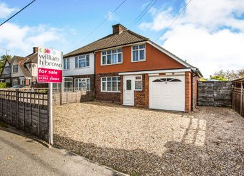 Thumbnail 3 bed semi-detached house for sale in Grove Road, Woodbridge