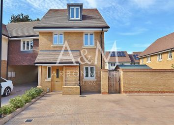 Thumbnail 3 bed detached house for sale in Frampton Close, Barkingside, Ilford