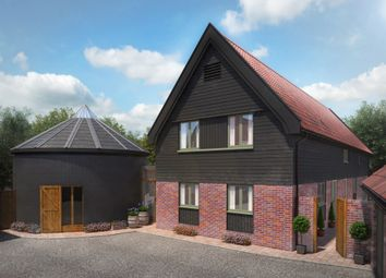 Thumbnail 4 bed detached house for sale in Old Mill Close, Worlingworth, Woodbridge