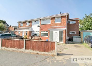 Thumbnail 4 bed semi-detached house for sale in Heather Road, Belton, Great Yarmouth