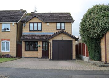 Thumbnail 3 bed detached house for sale in Coales Avenue, Whetstone, Leicester