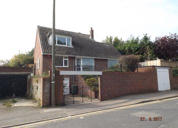 Thumbnail 3 bed detached house to rent in Radnor Park Avenue, Folkestone