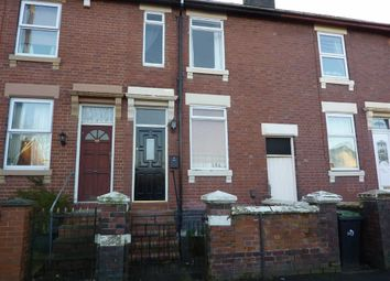 Thumbnail 3 bedroom town house to rent in Peel Street, Longton, Stoke-On-Trent