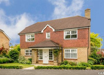 Thumbnail 4 bed detached house for sale in John Newington Close, Ashford, Kent