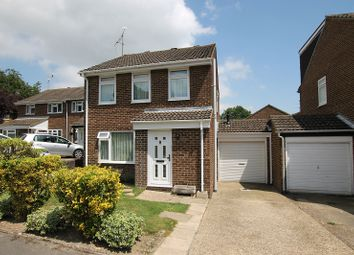 Thumbnail 3 bed link-detached house for sale in Bashford Way, Worth, Crawley, West Sussex.
