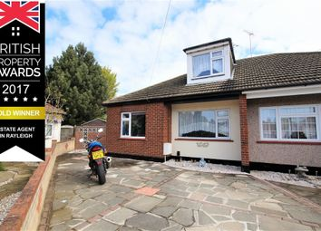 Thumbnail 3 bedroom semi-detached bungalow for sale in Watson Close, Shoeburyness, Essex
