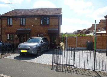 Thumbnail 2 bed semi-detached house for sale in Spring Meadow, Tipton