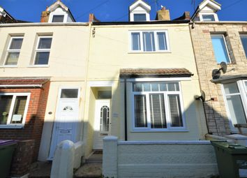 Thumbnail 3 bed terraced house for sale in Invicta Road, Folkestone, Kent