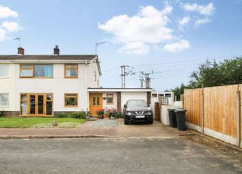 3 bed semi-detached house for sale in Cedar Close, Bacton, Stowmarket IP14