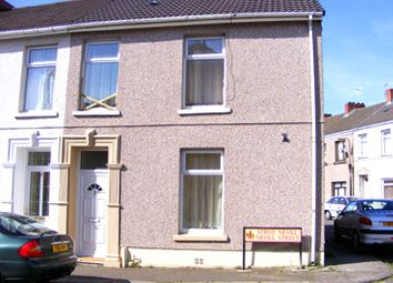 Thumbnail 3 bed end terrace house to rent in Nevill Street, Llanelli