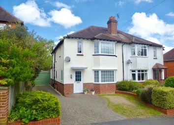 Thumbnail 3 bed semi-detached house for sale in Milverton Road, Winchester
