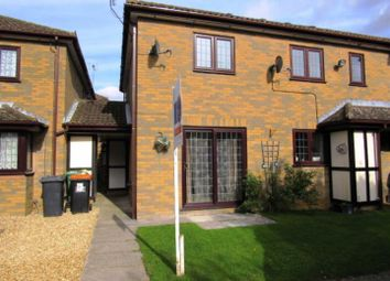 Thumbnail 2 bed end terrace house to rent in Frenchmans Close, Toddington, Dunstable