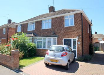 Thumbnail 3 bed semi-detached house for sale in Brightside Avenue, Staines-Upon-Thames, Surrey