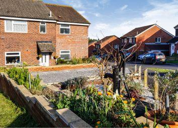 Thumbnail 5 bed semi-detached house for sale in Grace Dieu Gardens, Bursledon, Southampton