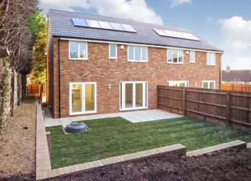 Thumbnail 4 bed semi-detached house for sale in Nene Close, Wansford, Peterborough