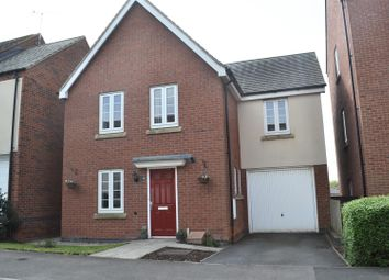Thumbnail 3 bed detached house for sale in Westminster Drive, Church Gresley, Swadlincote