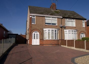 Thumbnail 2 bed semi-detached house for sale in Church Street East, Pinxton, Nottinghamshire