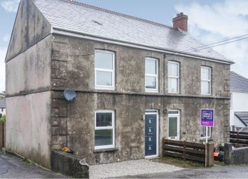 Thumbnail 3 bed semi-detached house for sale in Hallaze Road, St. Austell
