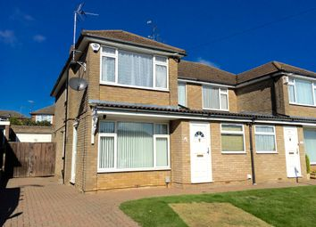 Thumbnail Semi-detached house to rent in Goldstone Crescent, Dunstable