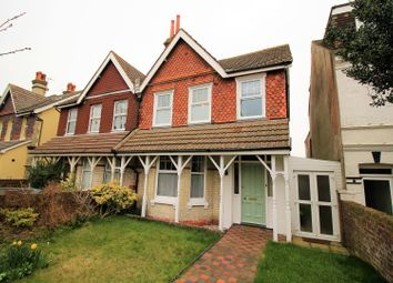 Thumbnail 4 bed semi-detached house for sale in Willingdon Road, Eastbourne