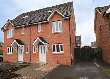 Thumbnail 4 bed semi-detached house for sale in Caulstran Street, Dumfries, Dumfries And Galloway.